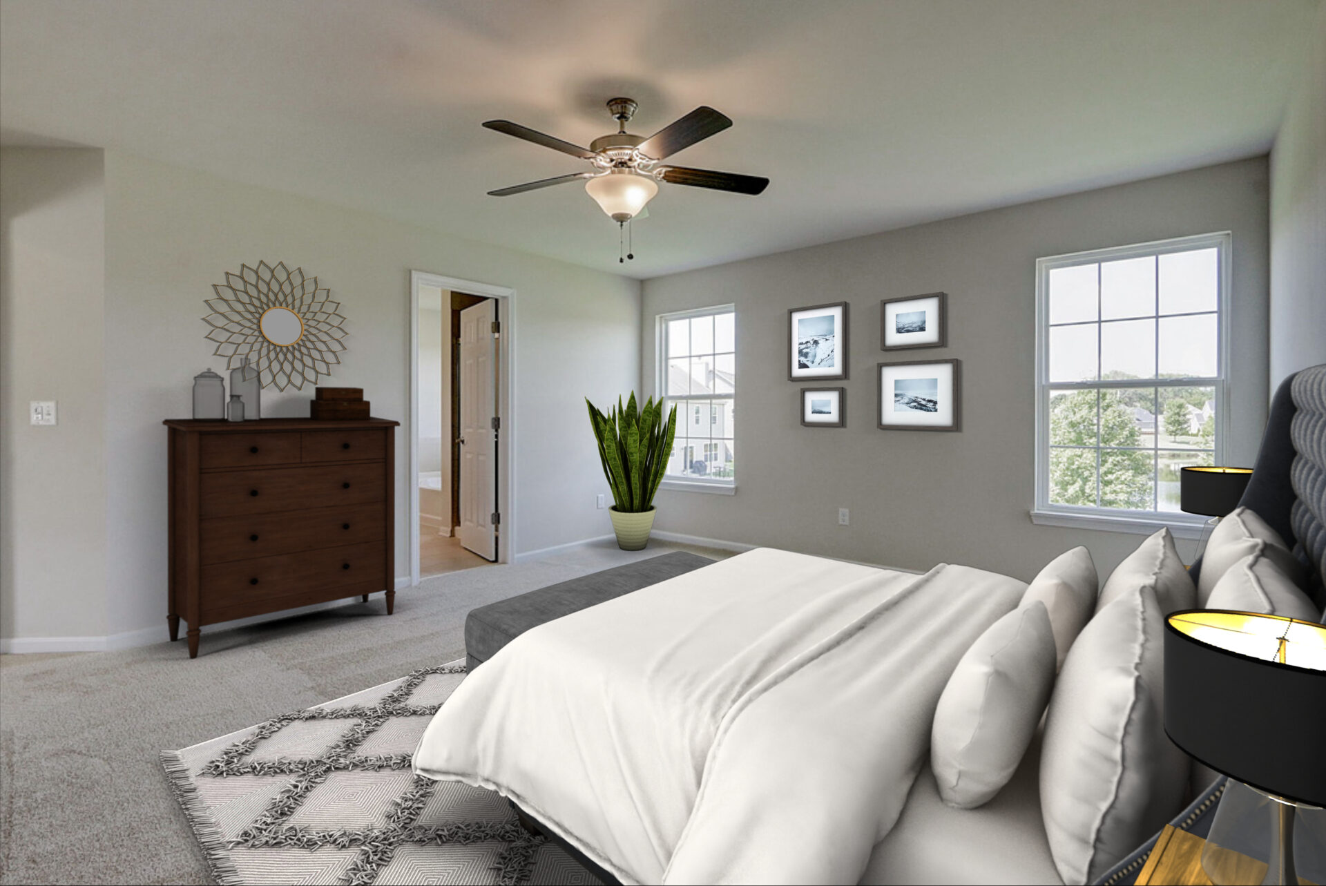 Augusta Master Bedroom