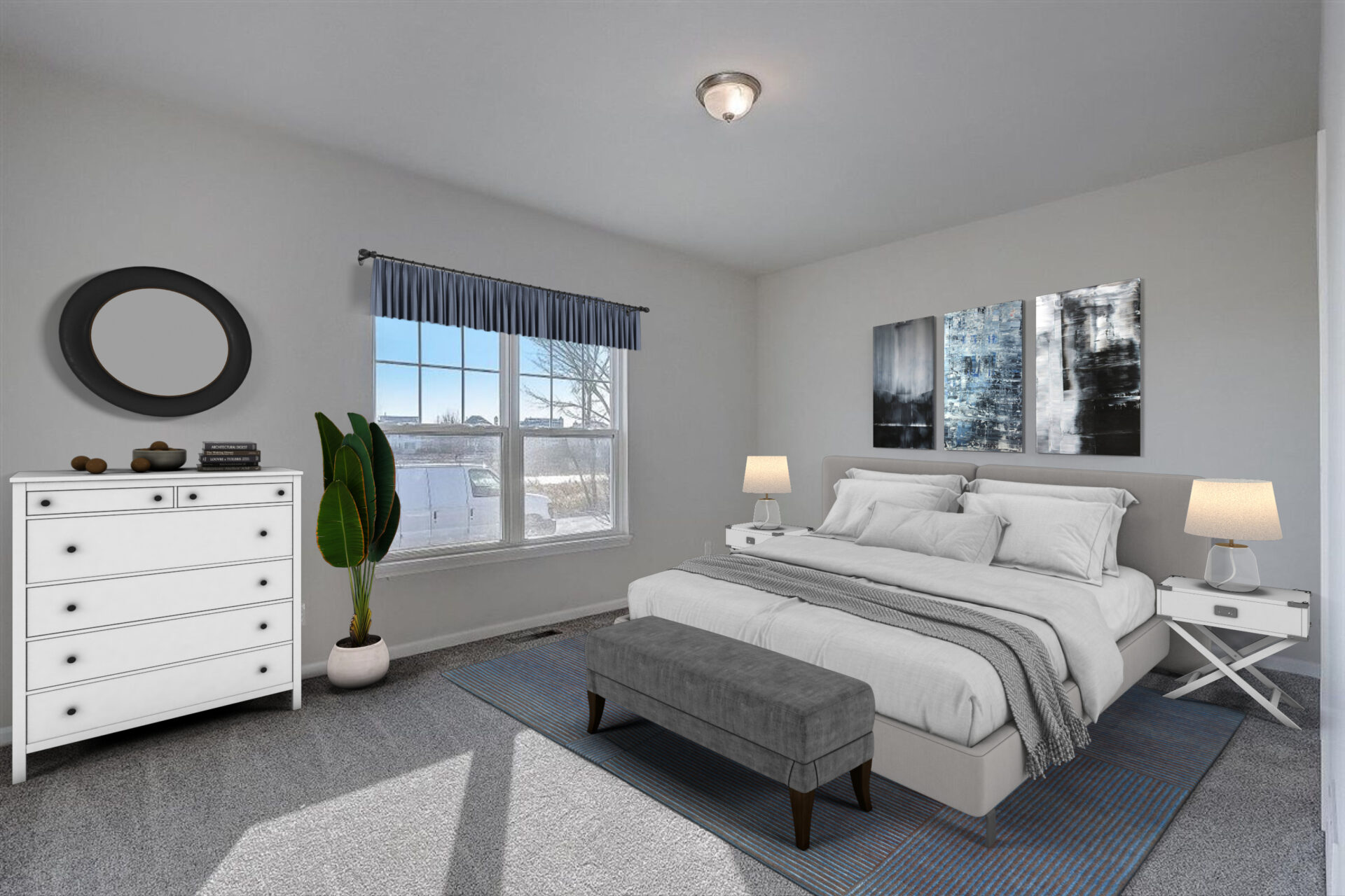 South Mill Creek Frisco Ranch Master Bedroom