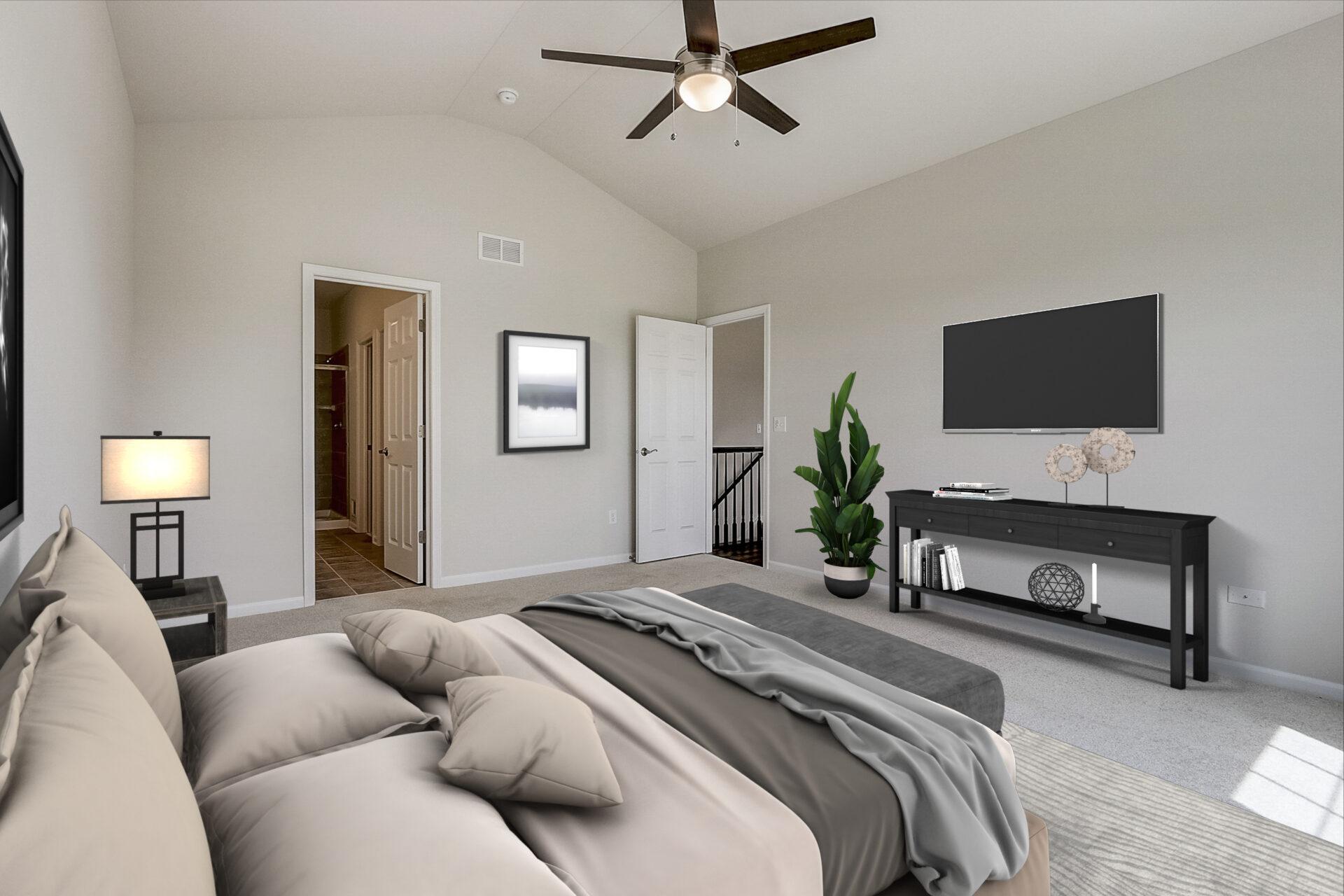 Reston Ponds Hickory Ranch Master Bedroom