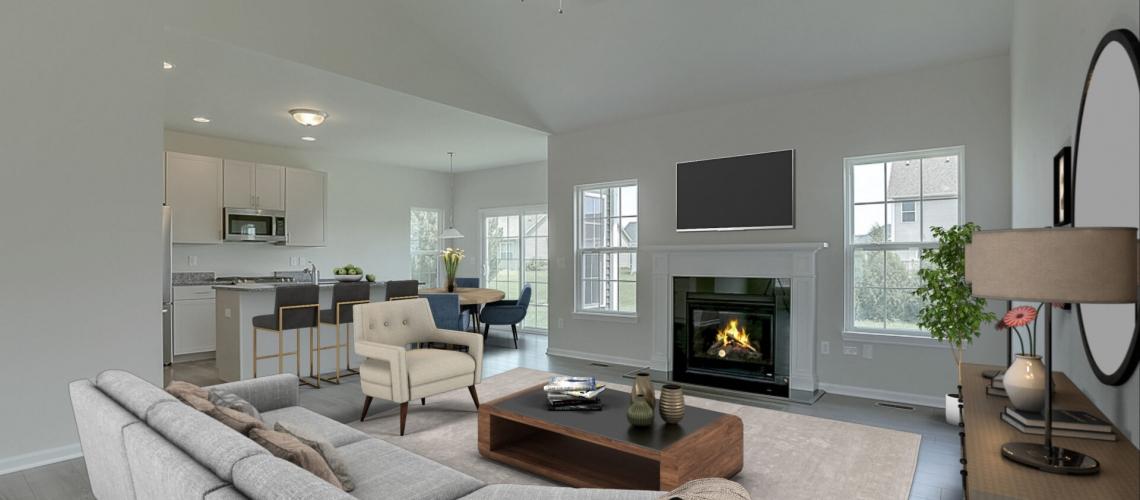 Castleton Ranch Living Room