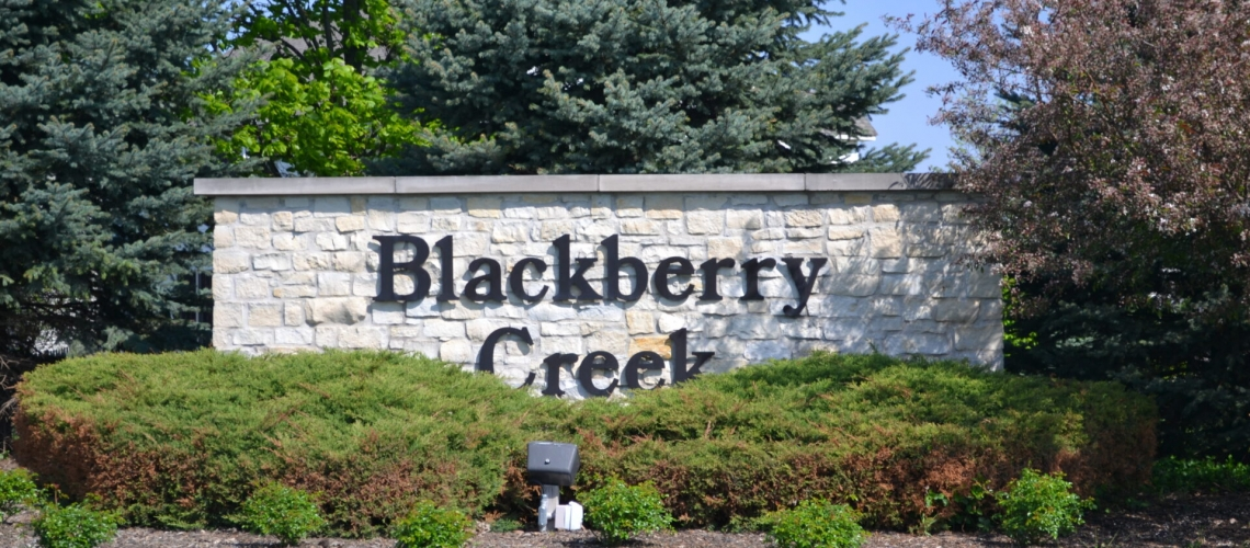 Blackberry Creek Entry